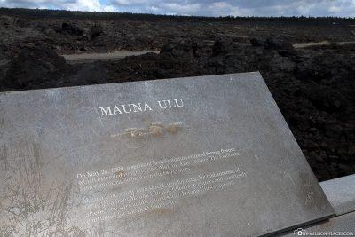 Mauna Ulu Volcano