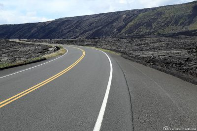 The Chain of Craters Road