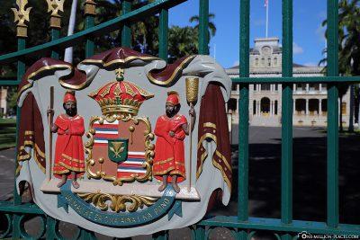 Gateway to Iolani Palace
