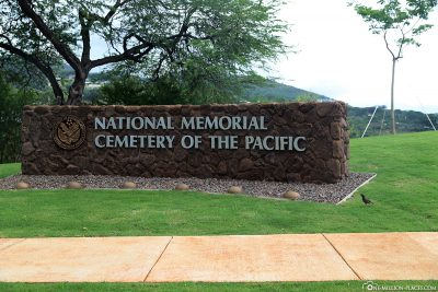 Eingang zum National Memorial Cemetery of the Pacific