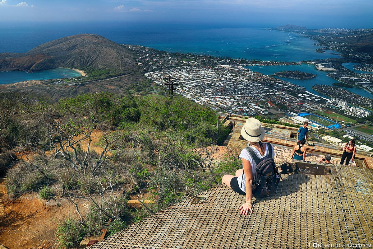 Aussicht, Koko Crater Railway Trail, Oahu, Hawaii, USA, Fotospot, Reisebericht, Urlaub