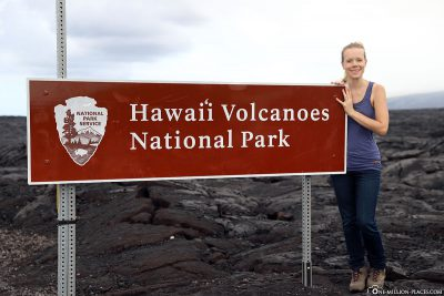 Eingang zum Hawaiʻi-Volcanoes-Nationalpark