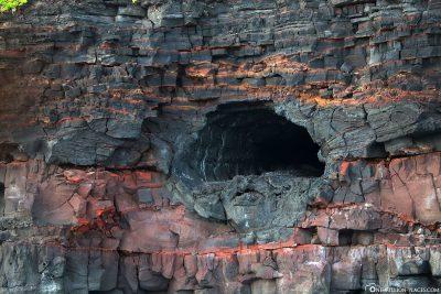 Eine alte Lava Tube