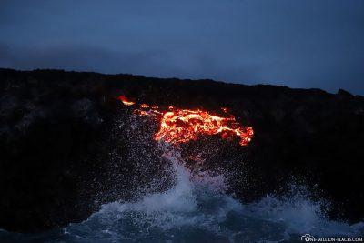 Der Lava Breakout wird immer größer
