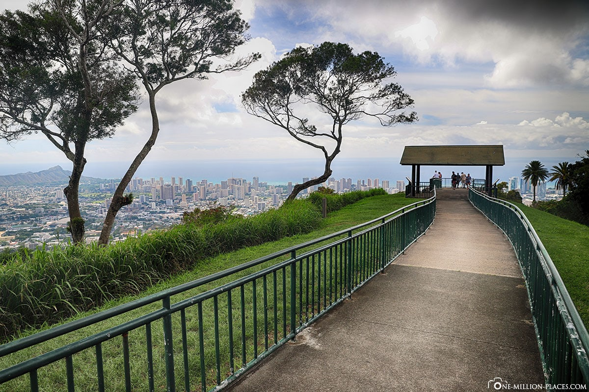 Tantalus Lookout, Way, Puu Ualakaa State Park, Honolulu, Hawaii, USA, TravelReports, Photo Spot