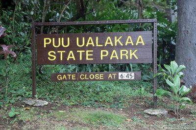 Der Puu Ualakaa State Park