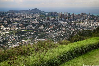 The view of Honolulu