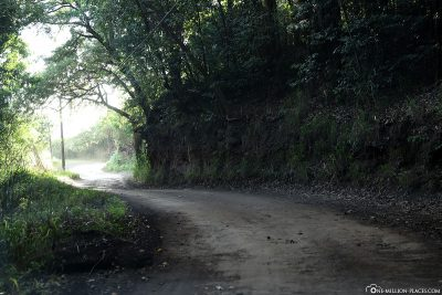 The partially poorly developed Piilani Highway