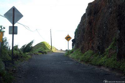 The Piilani Highway on Maui
