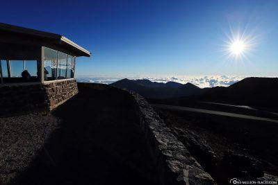 Auf dem höchsten Punkt des Haleakala