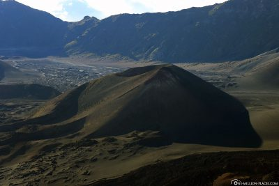 Die Mondlandschaft des Haleakala Kraters