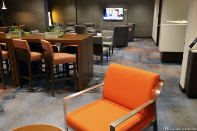 The Concierge Lounge at Calgary Airport Marriott In-Terminal Hotel