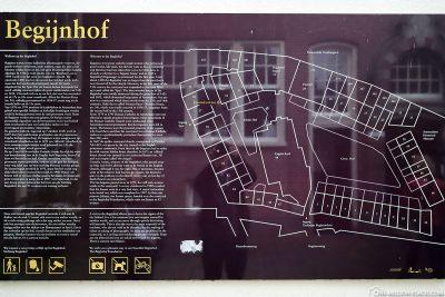 Map of Begijnhof