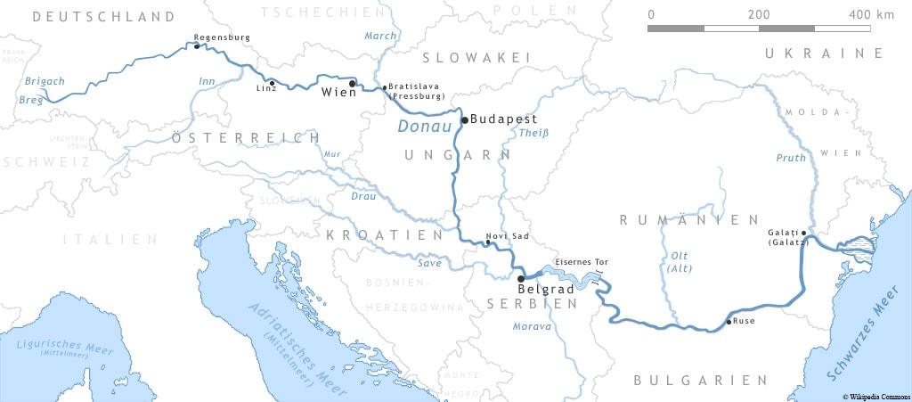 Course of the Danube, A-ROSA, Bella, River Cruise, Ship, Danube Classic, Experiences, Travel Report