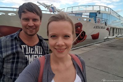 Start of our river cruise