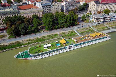 The A-ROSA Bella in Bratislava