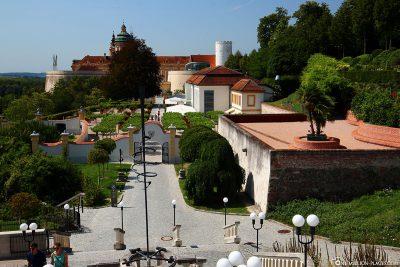 Der Restaurantgarten