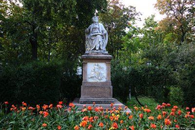 Das Denkmal von  Franz Schubert