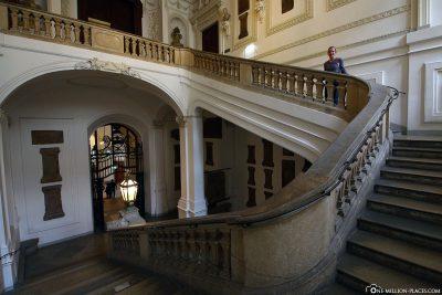 Der Eingang zum Prunksaal