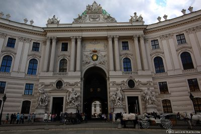 The Hofburg Vienna