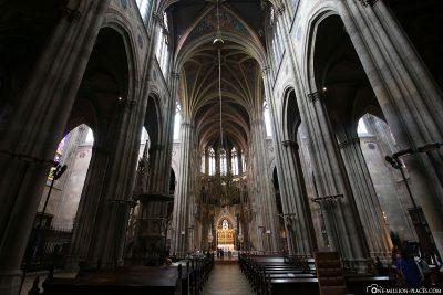 Innenansicht der Votivkirche