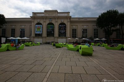 The MuseumsQuartier