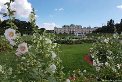 Belvedere Castle with the Belvedere Garden