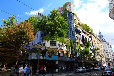 The HundertwasserHaus in Vienna