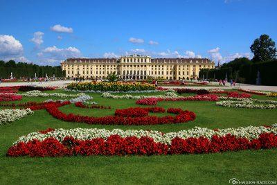 The Schönbrunn Palace Park