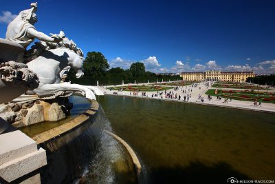 View from the Neptune Fountain