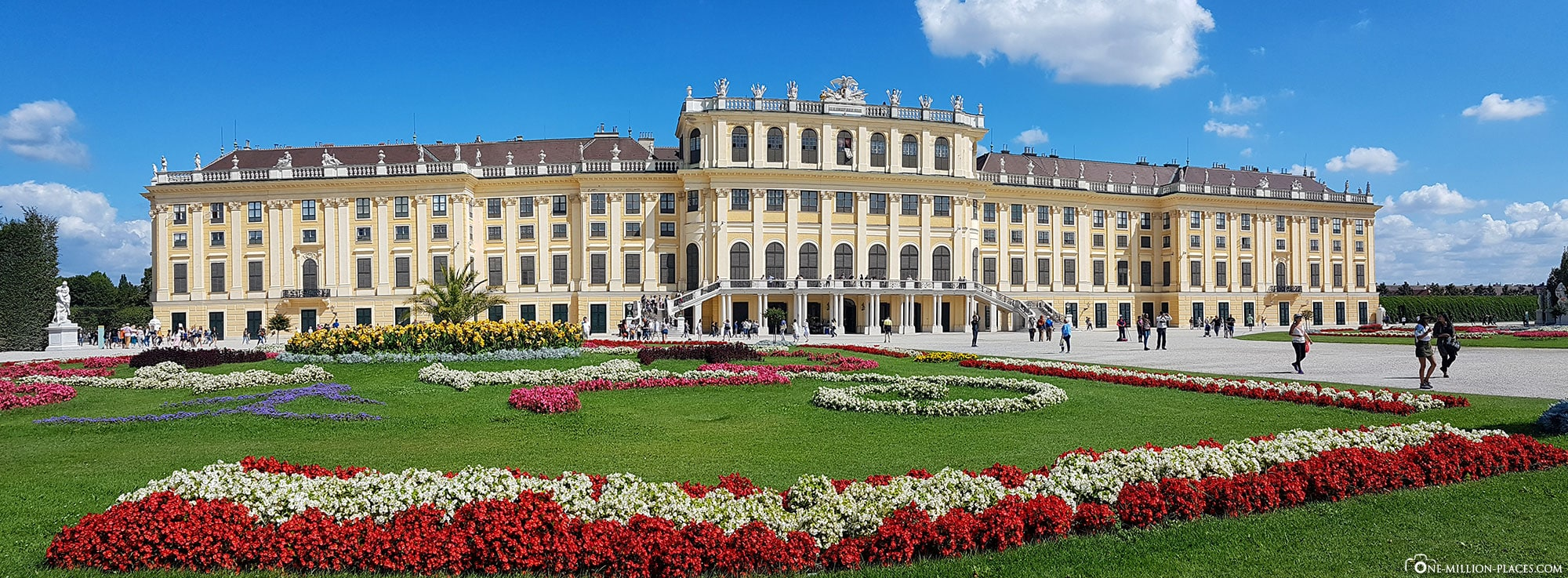 Panorama, Schönbrunn Palace, Vienna, Sights, Things to do, Attractions, Sightseeing, Travel Tips