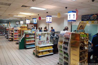 The WCTC supermarket in Koror