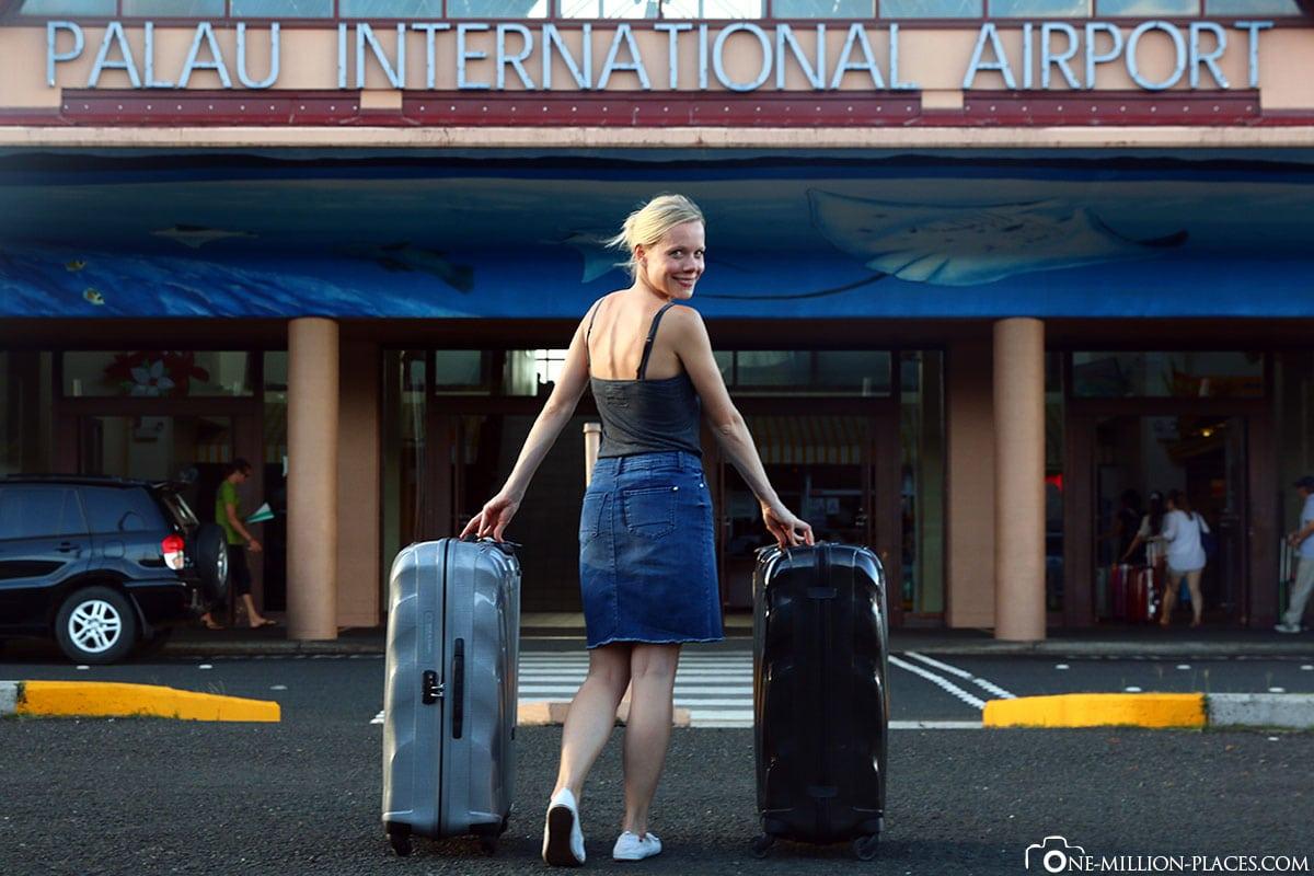 Arrival, Koror Airport, Palau, Travelreport