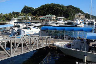 The Pier of Palau Royal Resort