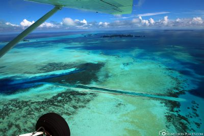 The German Channel in Palau