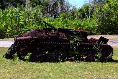 Old Japanese Tank