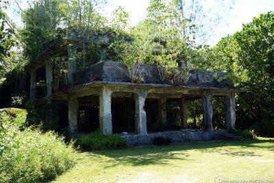 The Japanese Headquarters on Peleliu