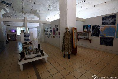 The museum on Peleliu