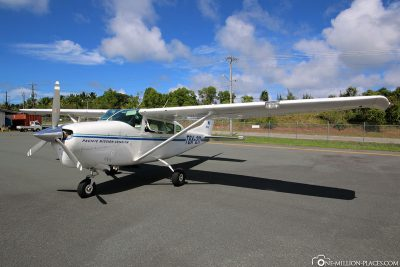 The Cessna of Pacific Mission Aviation