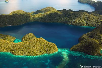 The Rock Islands in Palau