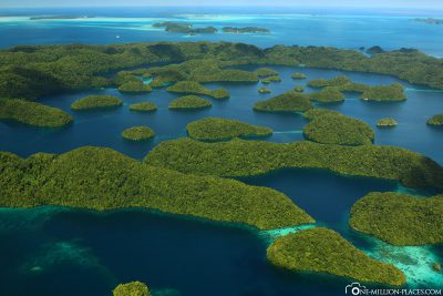 Our sightseeing flight over Palau
