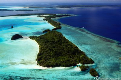 The island world of Palau