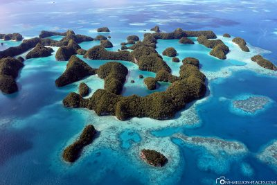 Die Seventy Islands in Palau