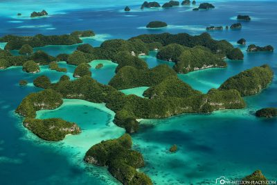The Seventy Islands in Palau
