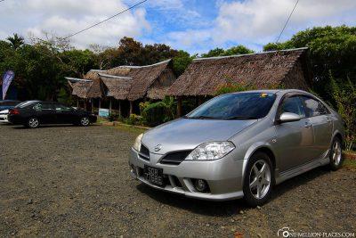 Our car rental in Palau