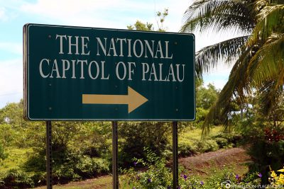 The National Capitol in Palau