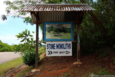 Entrance to the Badrulchau Stein-Monolith