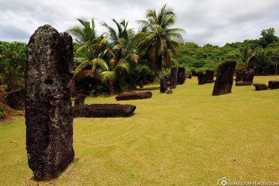 The Stone Monoliths in Palau