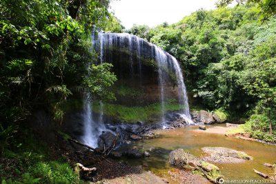 The Ngardmau Waterfall