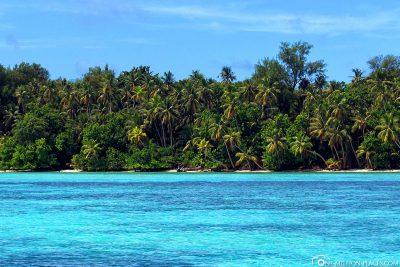 Die tollen Farben des Wassers